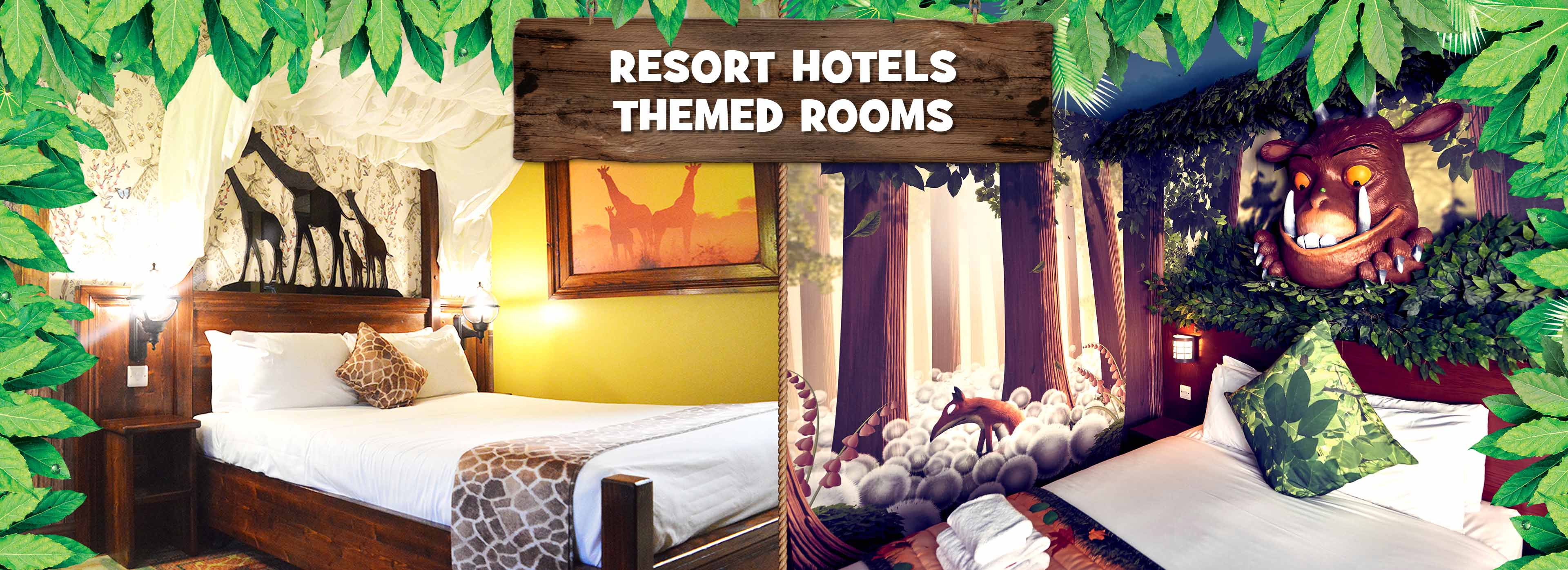 Theme Rooms at Chessington Hotels
