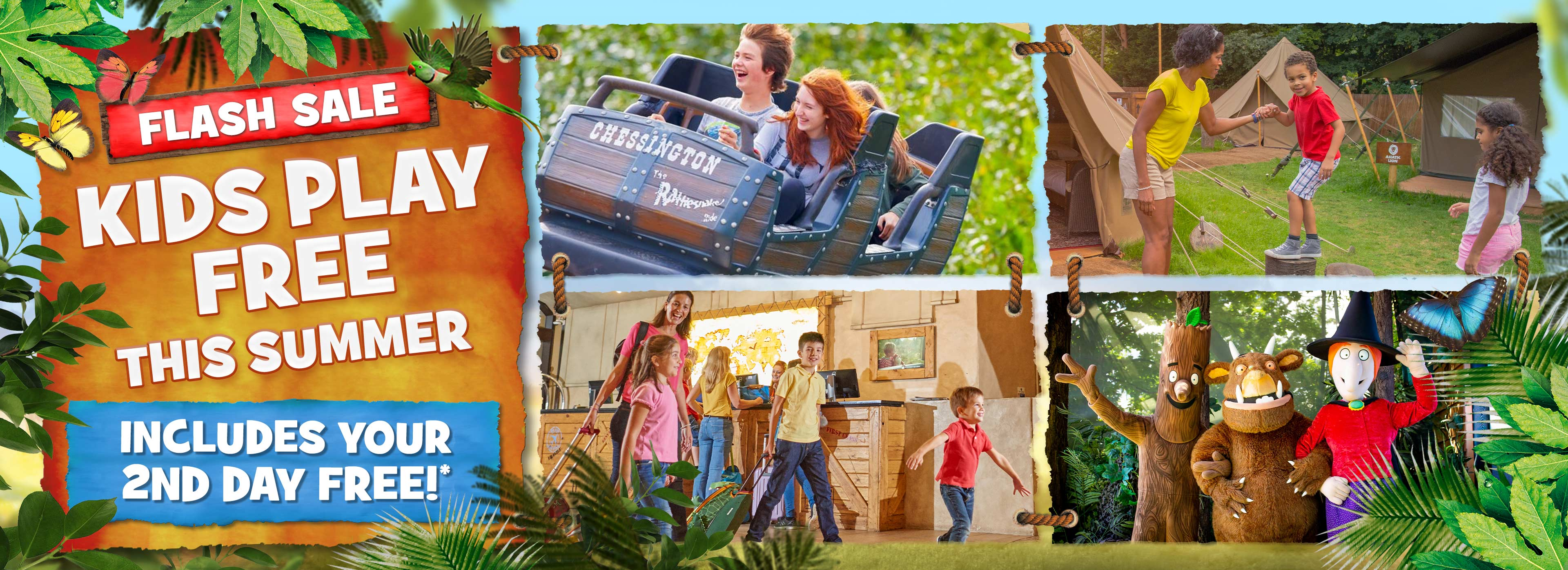 Kids Play FREE summer deal with Chessington Holidays