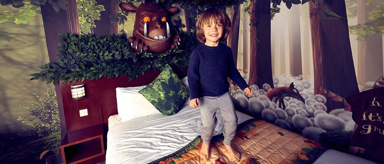 The Gruffalo Rooms at Chessington