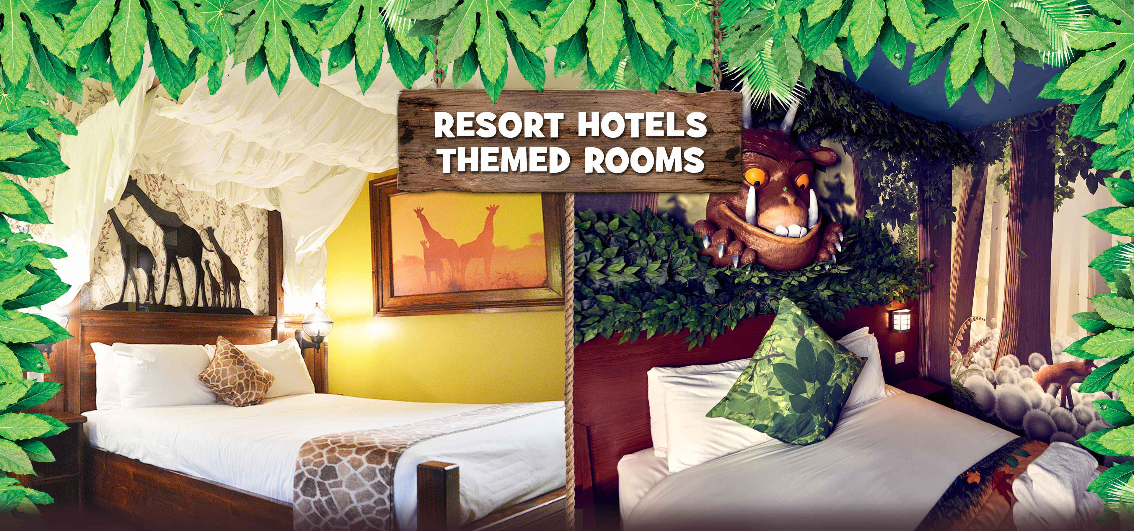themed hotel rooms themed hotel rooms at chessington resort 29571