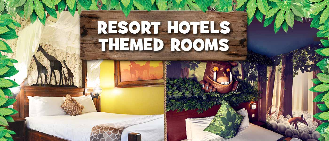 Chessington Hotel THEMED ROOMS