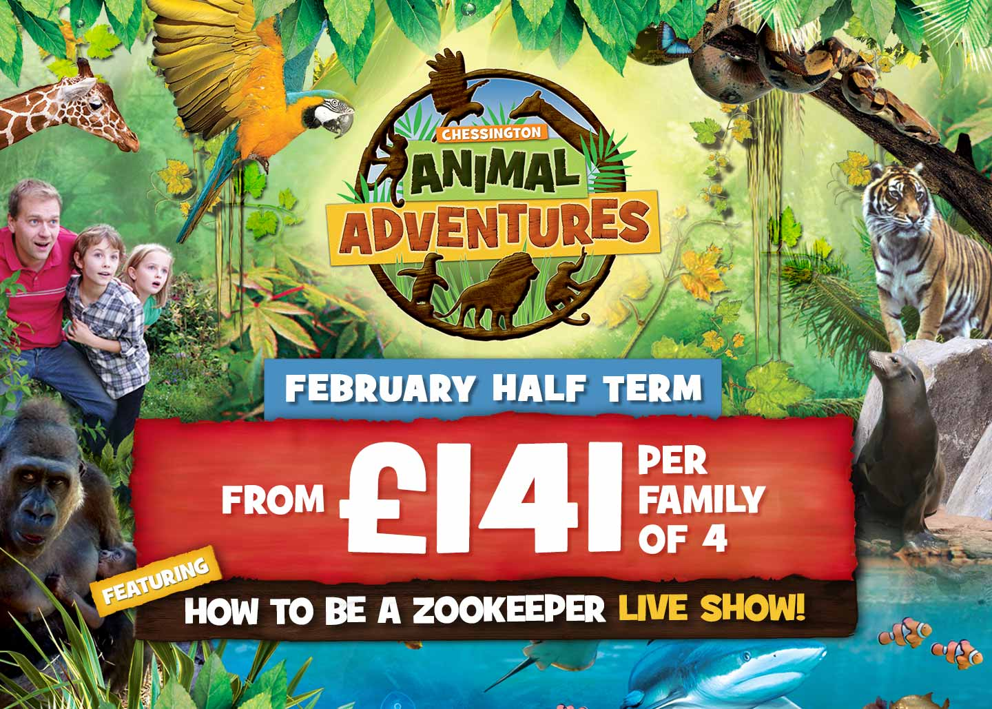 February Half Term 2019 with Chessington Holidays