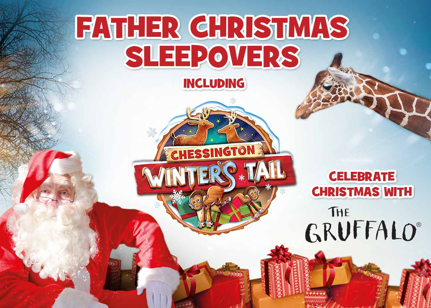 Father Chrismtas Sleepovers at Chessington World of Adventures Resort