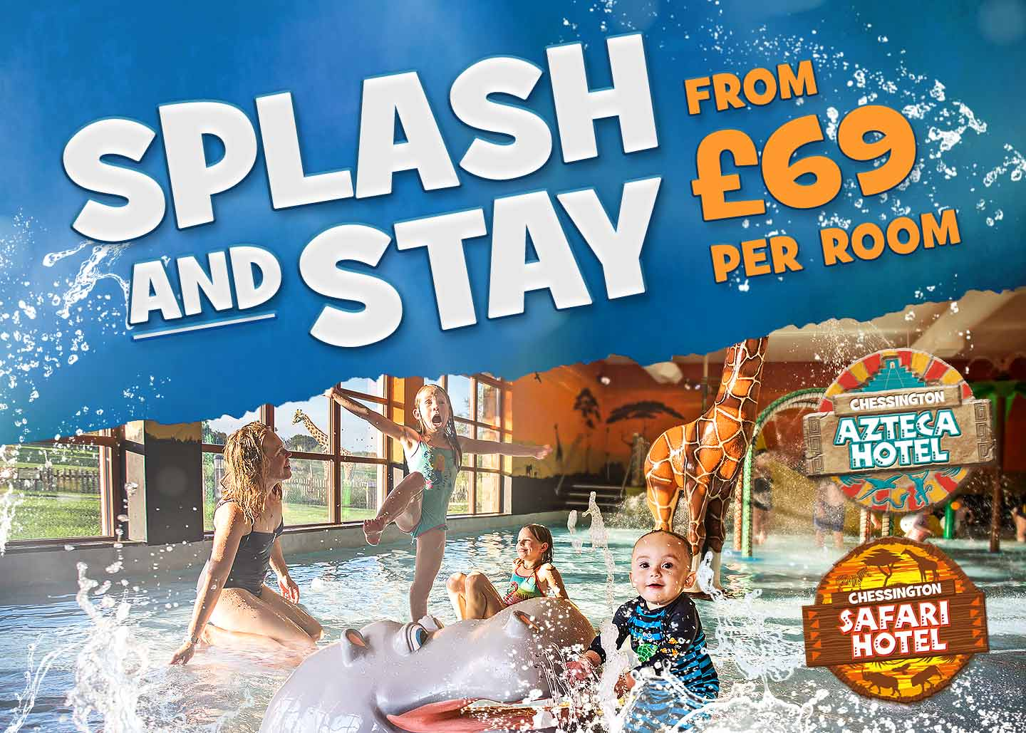 Splash and Stay in 2019 at Chessington World of Adventures