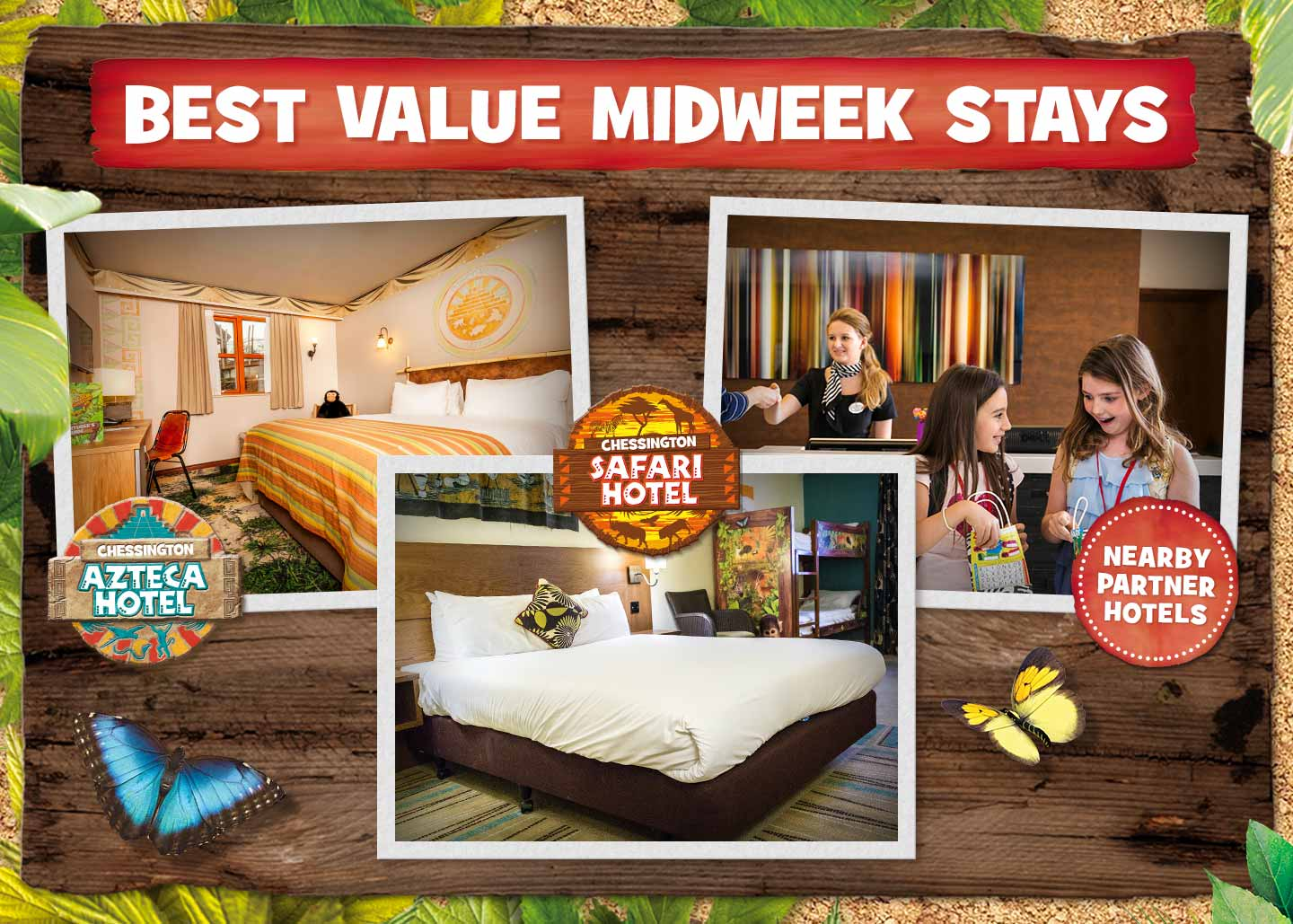 Best Value Midweek Stays at Chessington Resort in 2018