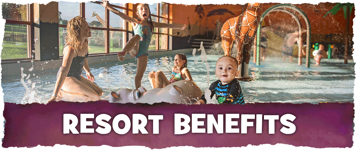 Exclusive benefits with Chessington Holidays