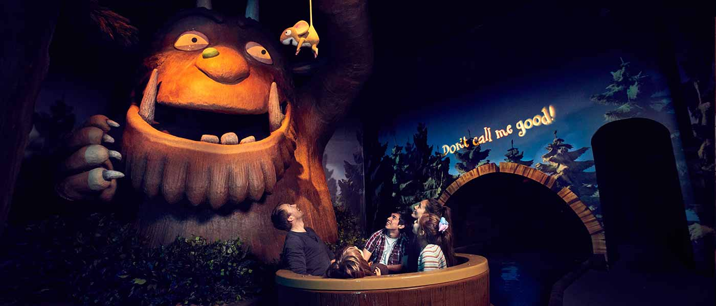 The Gruffalo River Ride Advenuture at Chessington Resort