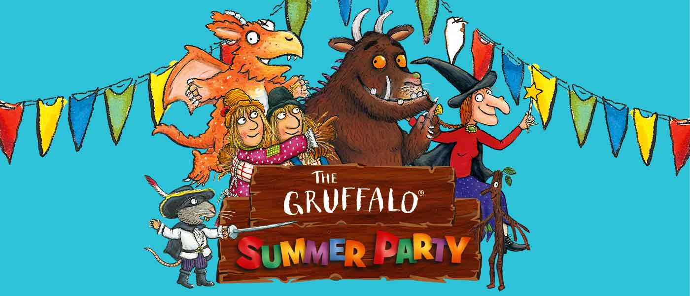 Gruffalo Summer Party at Chessington World of Adventures