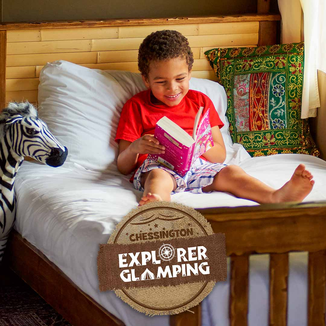 Explorer Glamping Tents with Chessington Holidays