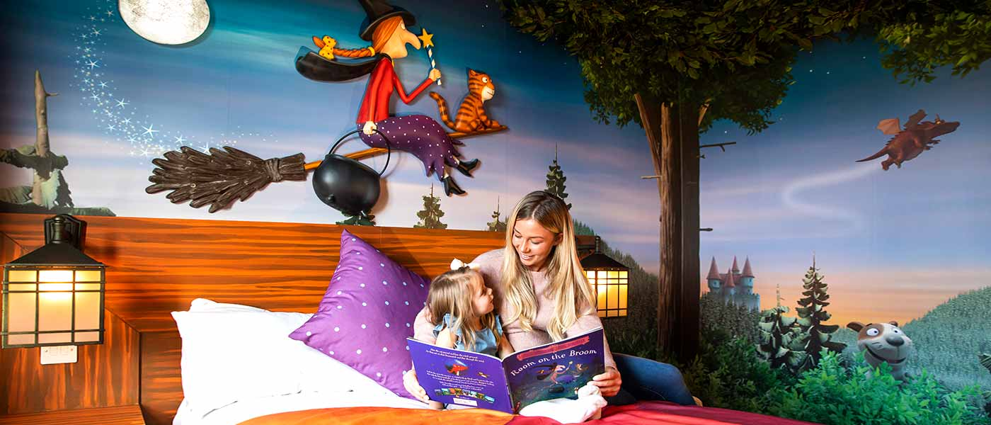 BRAND NEW – Room on the Broom Rooms as Chessington World of Adventures Resort Hotel