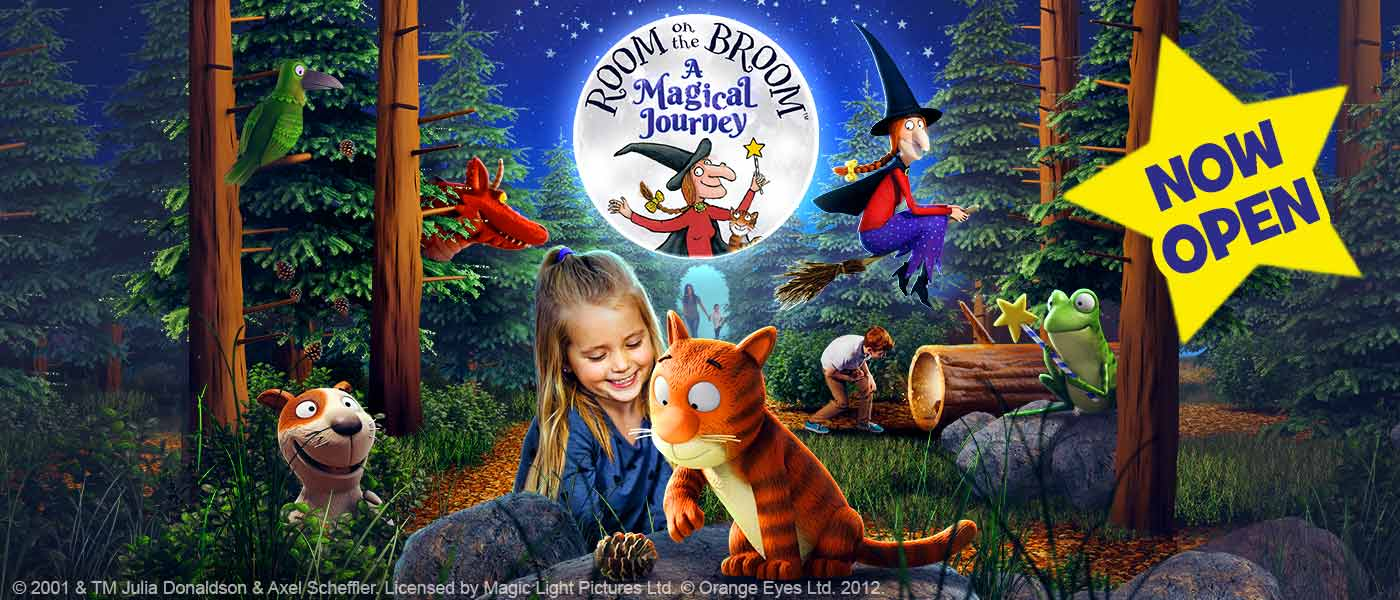 NEW FOR 2019: Room on the Broom at Chessington World of Adventures 2019